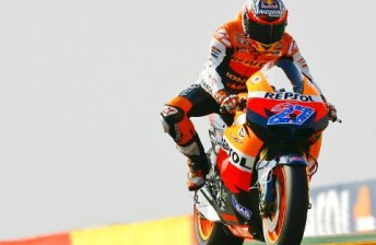 Casey Stoner will start from pole position