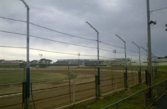 Speedway City has installed a new fence ahead of the 50th Australian Sprintcar Title