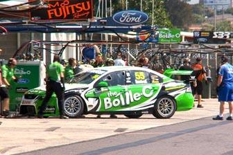Paul Dumbrell's #55 The Bottle-O Racing Falcon