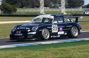 Klasan took his maiden GT3 Cup Challenge race win