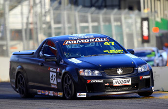 Tony Longhurst first drove a V8 Ute at the Clipsal 500 in 2010