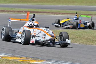 Dutch racer Hannes van Asseldonk at Taupo
