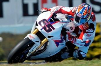 Rae beat the Ducati armada to the top spot