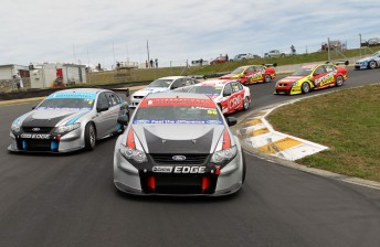 New Zealand's new V8 SuperTourers class completed its first test at Hampton Downs today
