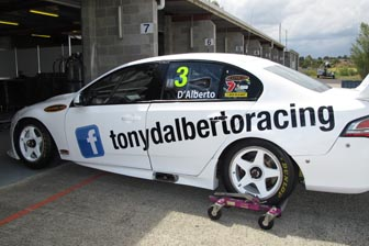 Tony D'Alberto will promote his Facebook and Twitter pages at Sandown this weekend