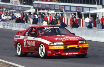 Nissan dominated Australian touring car racing in the early 1990s with its GT-R