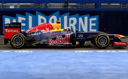 Sebastian Vettel at the Australian Grand Prix
