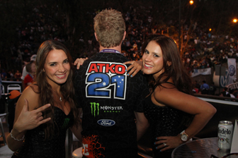 the Monster girls, always a hit with the fans