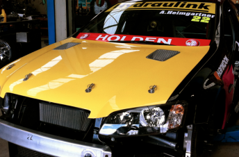 The bonnet vents are located at the top of the bonnet, seen here on Andre Heimgartner's Commodore