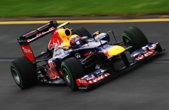 Mark Webber at the Australian Grand Prix