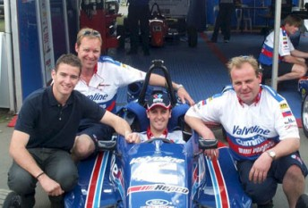 Through his Sonic Motor Racing Services team, Ritter has worked with some of Australia's best drivers, including Will Davison and Jamie Whincup