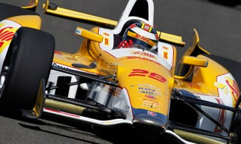Ryan Hunter-Reay is the 2012 IndyCar Series champion