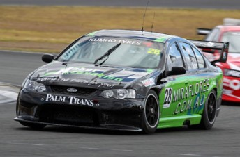Morgan Haber in his MWM-prepared Shannons V8 Toruing Car Series entry