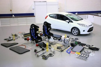 Ford Fiestas will be available for prespective Australian Rally Championship competitors