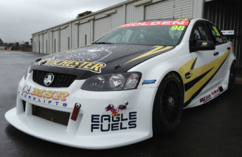 Glen Wood's #98 Holden Commodore