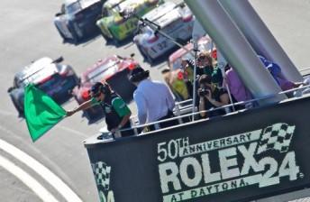 The start of the 2012 Daytona 24 Hour