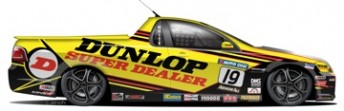 Steven White has secured support from Dunlop Super Dealers