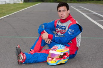 Sydney teenager Joseph Mawson will join the Top Kart factory team during 2013(Pic: AF Images/Budd)