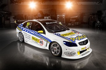 Jonathon Webb's 'Project 40' Tekno Autosports Commodore VF