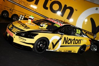 Moffat's #360 Norton Nissan will be one of only two on track this weekend