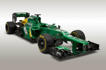 The Caterham CT03