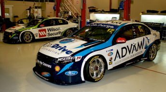 The two DJR Falcons as they'll appear in Adelaide