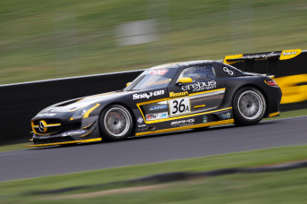 Erebus' winning car from the weekend's Liqui-Moly Bathurst 12 Hour