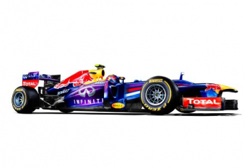 Mark Webber's Infiniti Red Bull Racing RB9
