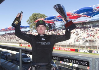 Craig Baird lifted the Australian GT trophy with another win in Adelaide