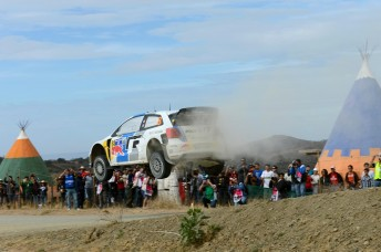 Sebastien Ogier is off the planet in Mexico