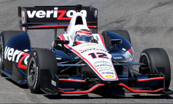 Will Power sets the pace in IndyCar testing at Barber Motorsports Park