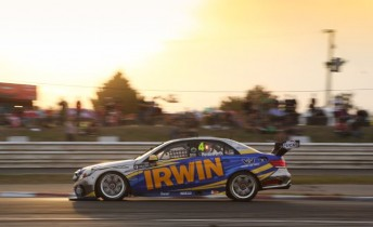 Lee Holdsworth on his way to 13th in Race 5