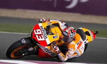 Marc Márquez fastest on Friday in Qatar