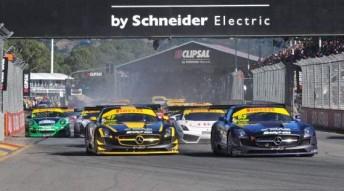 The Australian GT field in Adelaide last month