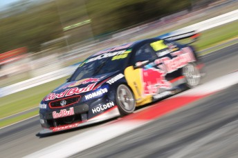 Craig Lowndes secured his 91st race victory