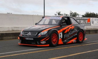Tony Quinn gave the Euro GT its first track outing at Queensland Raceway