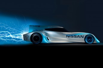 Nissan's ZEOD RC that will take on Le Mans in 2014