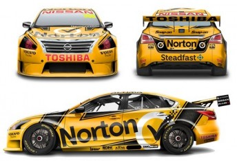 The revised Norton livery