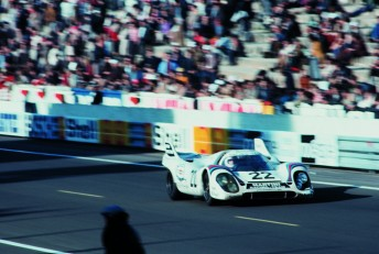 The Martini Racing Porsche 917K which won Le Mans in 1971