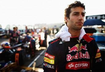 Daniel Ricciardo will drive a Red Bull at the Silverstone test