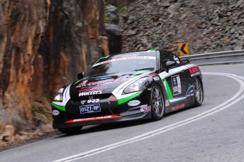 Steve Glenney has won Targa Adelaide