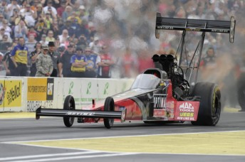 Dave Grubnic made the Seattle NHRA Final