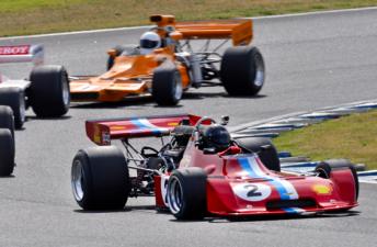 Tom Tweedie was too fast in the F5000 Cup