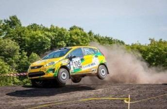 Brendan Reeves is on the verge of scoring a Rally America title