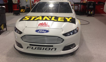 The Ford Fusion Marcos Ambrose will campaign in 2014