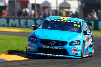 Scott McLaughlin finished both sessions in the top five