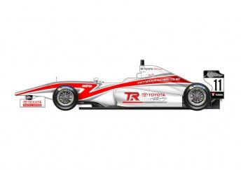 The all-new Tatuus-built FT50 which will debut in the 2014 Toyota Racing Series