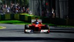 Fernando Alonso during qualifying in 2012