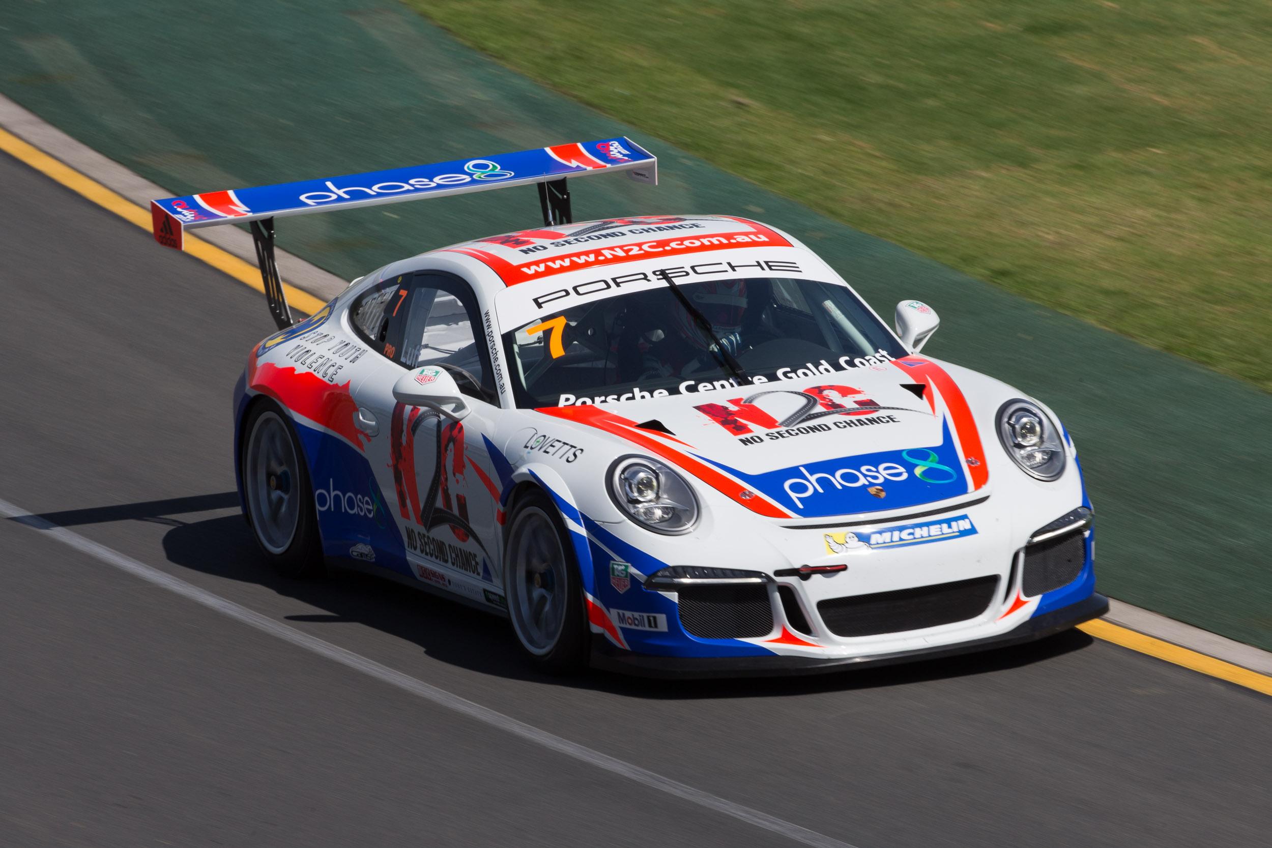 Luff snares Porsche Carrera Cup pole - Speedcafe