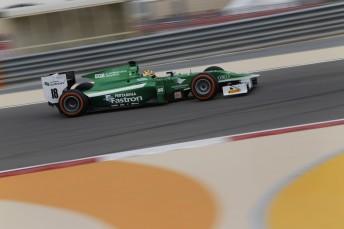 Rio Haryanto smashes out quickest time on day 2 of pre-season GP2 testing at Bahrain